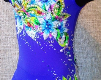 Summer - leotard for rhythmic gymnastics (ONLY FOR ORDER)
