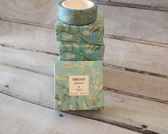 Van Gogh Style Washi Tape - Almond Blossom or Wheat Field