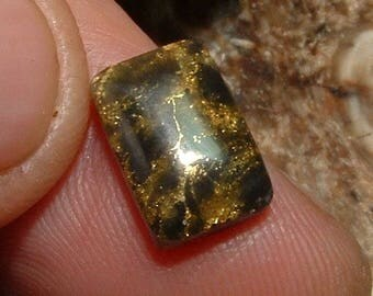 SHEEP RANCH Natural Gold Quartz Cabochon 5.2 Carats Gemstone Jewelry