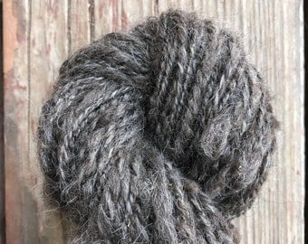 Handspun Icelandic Yarn -- worsted weight 100g 2-ply