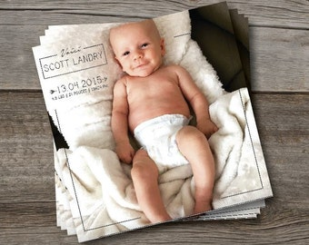 A birth announcement - gift