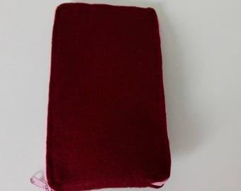 Mobile Phone Purse, Case made of Felt Fabric