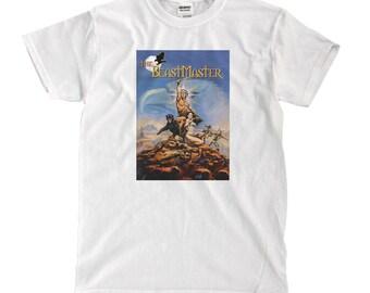 Beastmaster Poster Art - White T-shirt