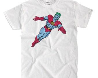 Captain Planet - White T-shirt