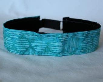Teal Batik Headband