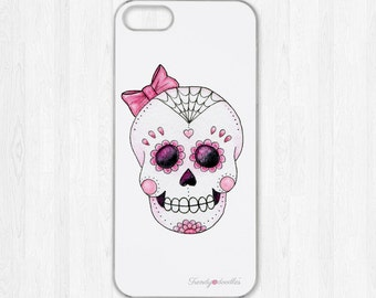 Pink Sugar Skull iphone case