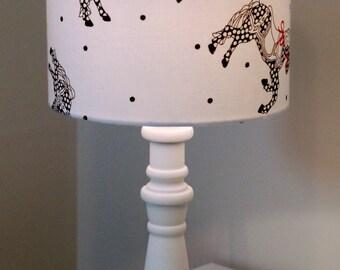 Handmade Lampshade Rocking Horses