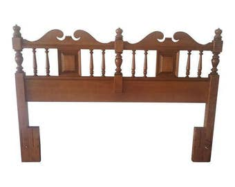 Antique Tell City Chair Queen/full Headboard