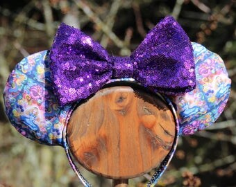 Alice in Wonderland inspired Mickey Ears