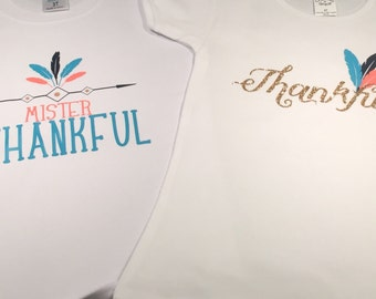 Mr thankful thanksgiving fall shirt feather shirt wild one