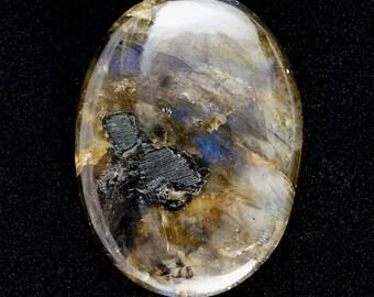 Beautiful Natural Labradorite cabochon stone