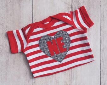 I Heart NE --- Infant Bodysuit