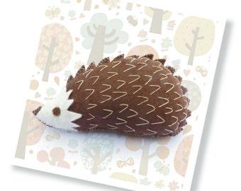 Harry the Hedgehog Sewing Kit