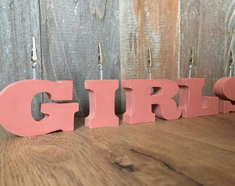 Pottery Barn Letters Etsy