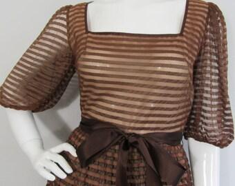 Vintage 1950s JEAN ALLEN Dress, UK  Prom, Party, Wedding, Christening