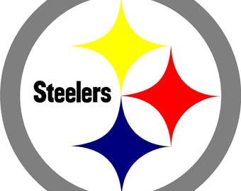 Steelers Cornhole Decal 18inch