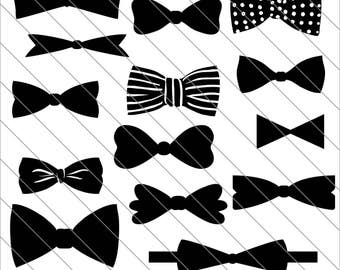 Bow tie silhouette – Etsy