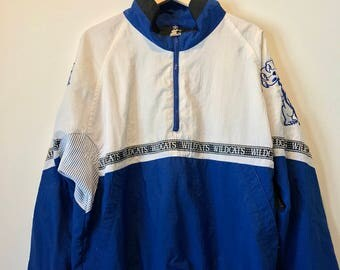 University of Kentucky Starter Zip Up Jacket
