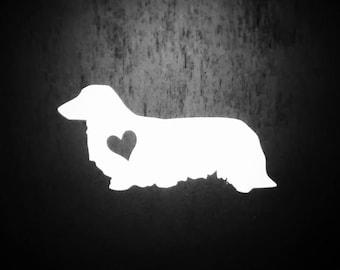 Doxie Decal, Dachshund Dog, Doxie Dog, Dachshund, Laptop Decal, Dog Decal, Dog Sticker, Yeti Decal, Pet Accessories, Vinyl, Ipad Decal