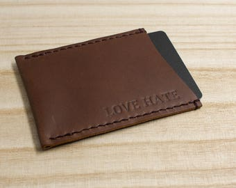 Wallet | Leather Card Cover | Card Holder | Card Wallet | ShinyLake