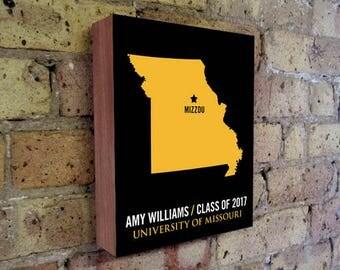 University of Missouri - Mizzou Tigers - Missouri Tigers - Mizzou - College Graduation Gift