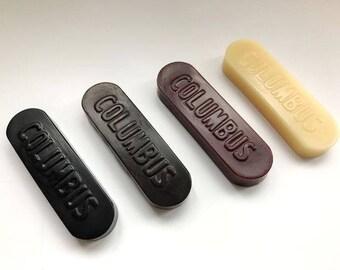 Columbus Leather Edge Polishing Wax Leather Grinding Tools  Japan Leathercraft Craft