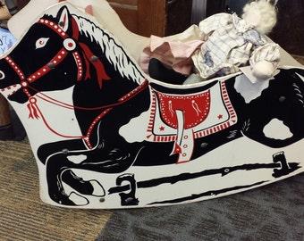 Vintage 1950's Rocking Horse