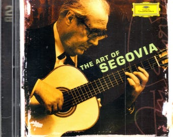 Segovia - The Art Of Segovia (2xCD, Comp, RM) - CD - NM