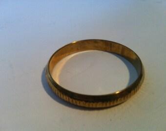 Bangle round metal