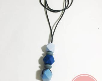 Long teething necklace
