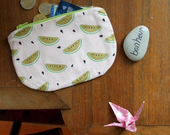 Wearing Mint watermelon / Mini pouch / Mini Kit / Mini door leaf