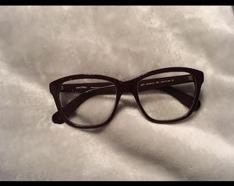 Eggplant hipster glasses Horn-rimmed glasses