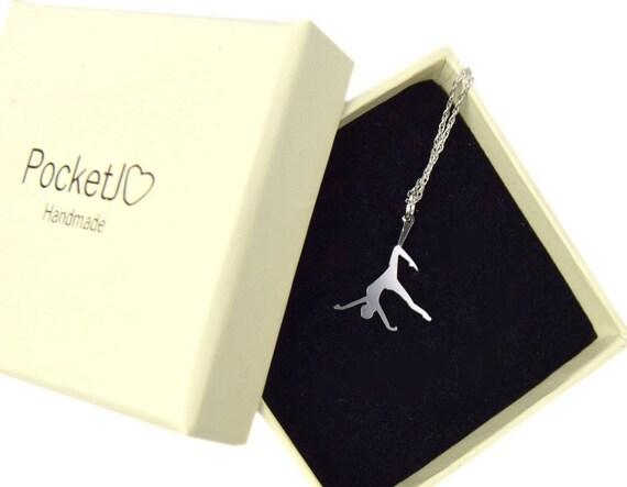 Aerial circus necklace - aerialist necklace - aerial rope necklace - circus necklace - kinbaku - shibari - kinky necklace