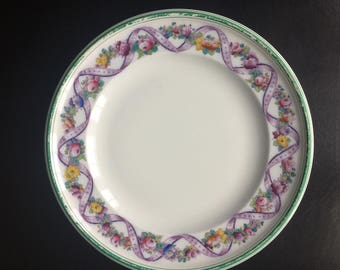 Antique Hand Finished China Plate