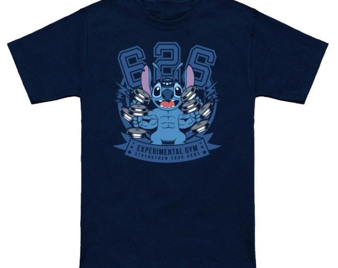 EXPERIMENTAL GYM Disney Cartoon Lilo And Stitch Experiment 626 Japanese Geek T-Shirt Anime Nerd Shirt Ohana