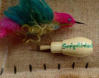 Needle felted hummingbird/ needle felted collectable/ hummingbird/