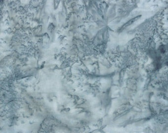 Batik Fabric 1895-28 Silver Hoffman Fabric -  Watercolor -CT 118652 100% Quality Cotton by the Yard and Yardage