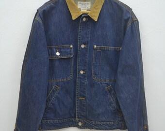 Polo Ralph Lauren Jacket Vintage Polo Ralph Lauren Authentic Dungarees Denim Jacket Size M