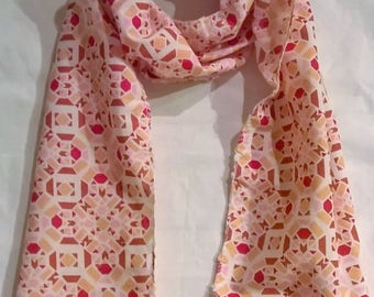 GOTS Certified cotton Girls scarf/foulard