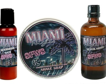 SFWS Miami Nights Shave Soap