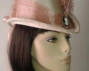 Steampunk Tall Victorian Riding Hat