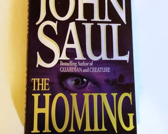 The Homing by John Saul    Hardcover Thriller/Horror