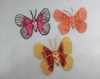 Embroidery Butterfly Appliques