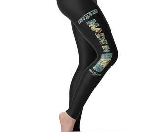 Made In DE Delaware Women's Leggings