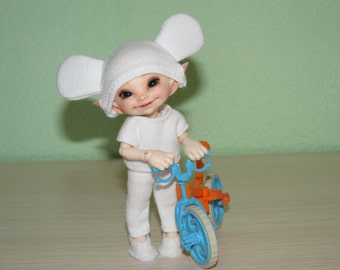 """Outfit """"Mouse"""" for Realpuki and dolls of similar size"""