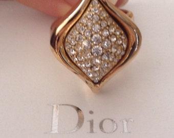 Original Christian Dior vintage ring