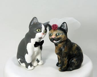 cat wedding cake toppers cat cake toppers etsy 2519