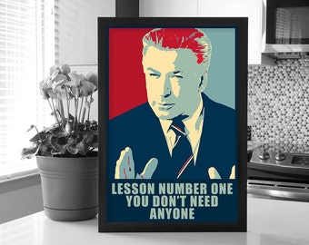 30 Rock: Jack Donaghy Change Poster_Lesson Number One