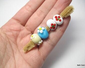 Destash Unknown Artisan Lampwork bead lot #2