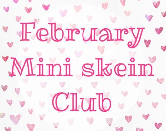 February mini skein club